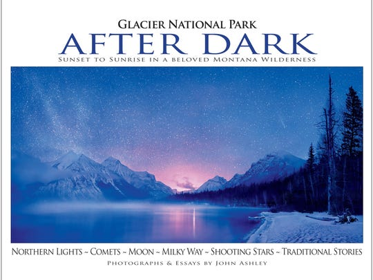"""Glacier National Park After Dark"" by John Ashley"
