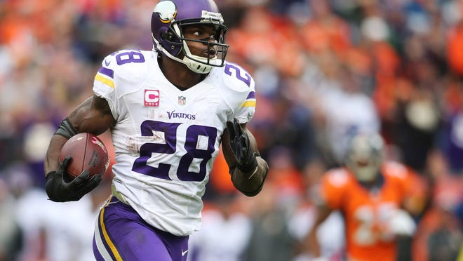 Minnesota Vikings running back Adrian Peterson said he will invite Kansas City Chiefs rusher Jamaal Charles to work out with him in the offseason — both are native Texans who return home during the summer. The idea is that he could help push Charles through rehab after his second torn ACL sustained last Sunday.