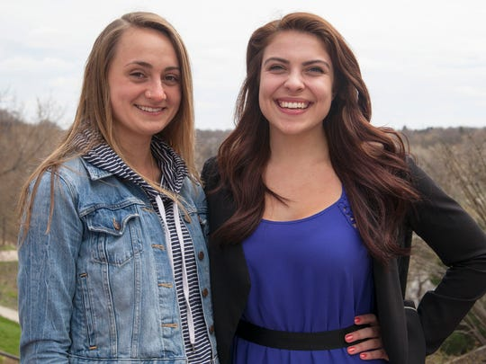 Kristen Edwards and Hayley Cardinal have earned Fullbright grants.