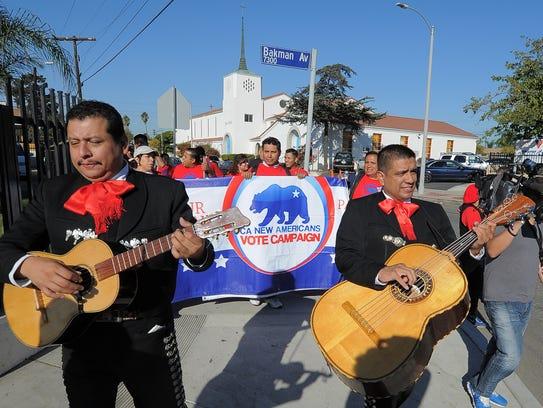 Las campañas se han dedicado a atraer al voto latino,