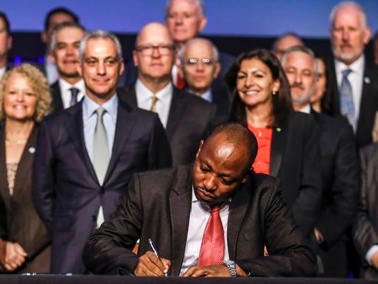 Dar es Salaam, Tanzania Lord Mayor Isaya Mwita Charles