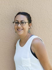 Kayla Brown was among the NMSU anthropology students