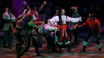 """Dress rehearsal for """"Peter Pan"""" at Tuacahn Amphitheatre in Ivins City."""