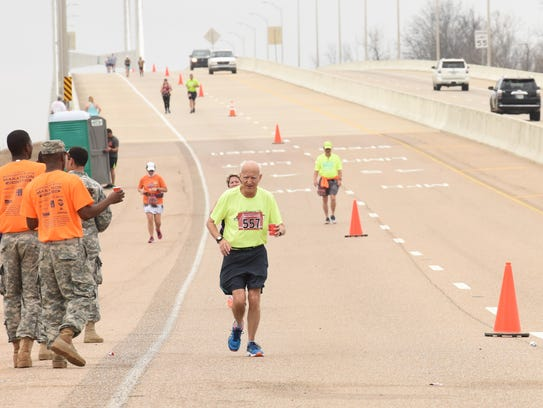 Jack Pace has run seven half-marathons and one full