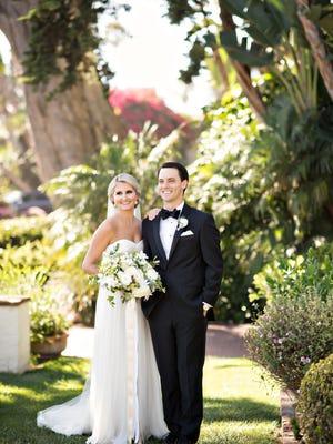 Madison Akerblom and Patrick Seamans married on Sept. 19, 2015, at the Four Seasons Biltmore in Santa Barbara.