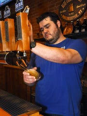 Randall Marquis, owner of Blue Collar Brewery located