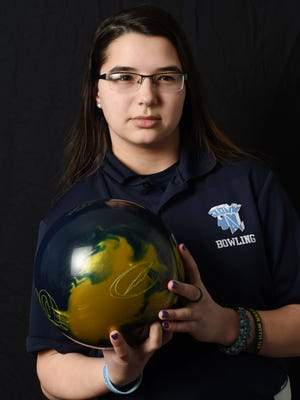 Victoria Pacacha of John Jay High School is the girls bowling Player of the Year.