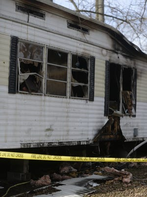 A portable space heater has been cited as the cause for a Friday fire that destroyed a Richmond mobile home.