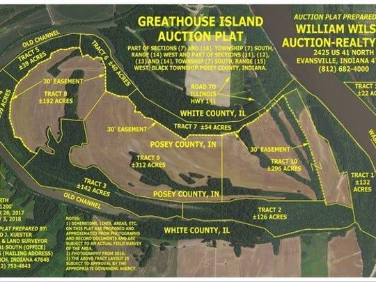 Greathouse Island Auction Plat