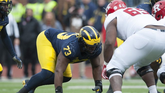Michigan defensive lineman Maurice Hurst earned a spot on the Associated Press All-America first team.