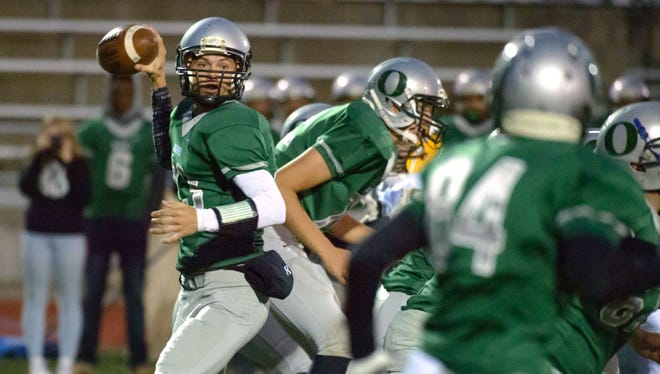 Bradley Sinclair and GLAC champion Olivet are projected to have a home pre-district playoff game.