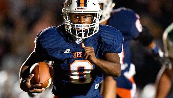 Beech's Kaemon Dunlap has 1,616 rushing yards this season entering the Class 5A playoffs.