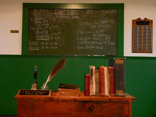 Godwin's School, a one-room schoolhouse closed in 1936,