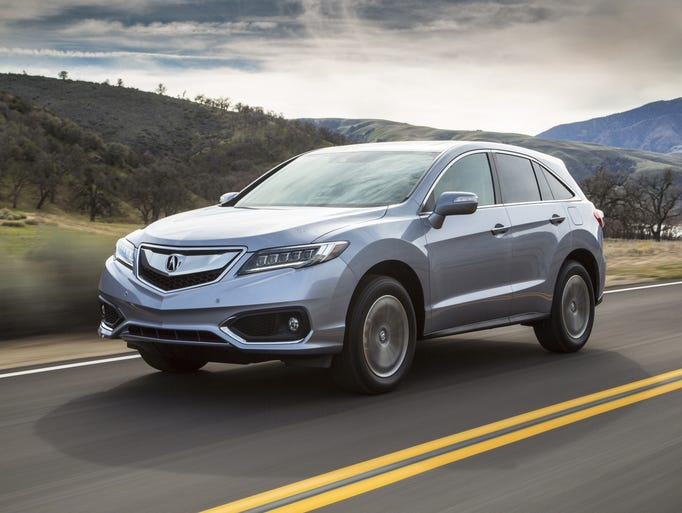 acura spruces up rdx crossover for 2016. Black Bedroom Furniture Sets. Home Design Ideas