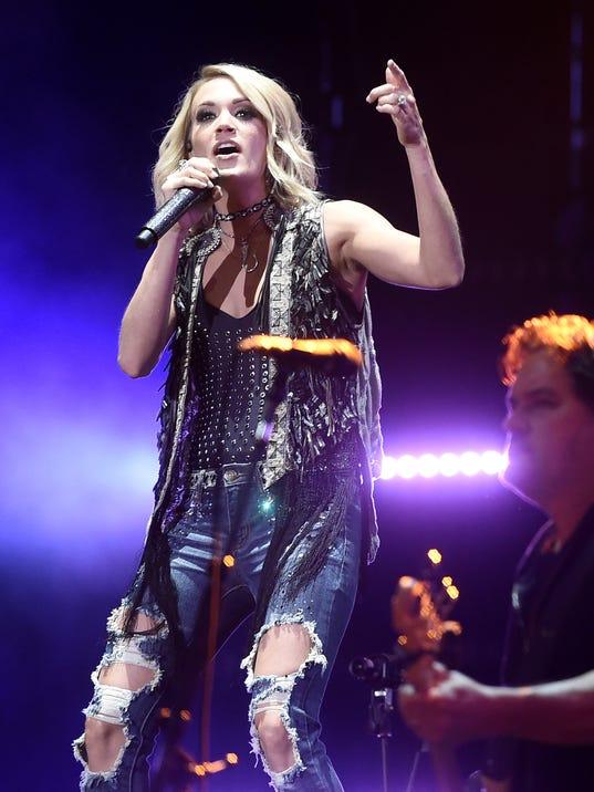 Carrie Underwood Storyteller Tour Nashville