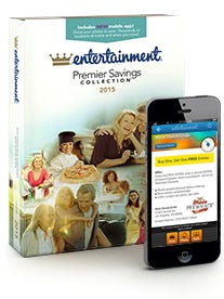 2015 Entertainment Book - thousands of coupons