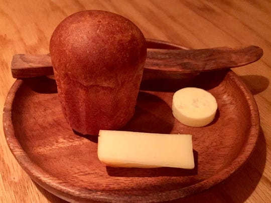 The course called Milk at Ardent, 1751 N. Farwell Ave., uses milk from a single milking of one herd in western Wisconsin for the roll and cultured butter, made at the restaurant, and the Muenster cheese, made for the restaurant.