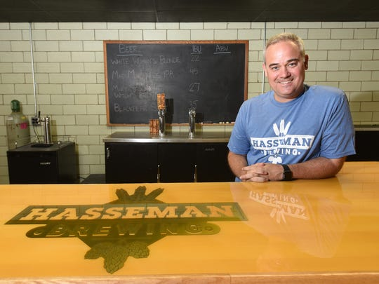 Kirby Hasseman will open Hasseman Brewing in Coshocton with his two partners as soon as they gets their state license.