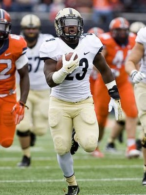 Keyante Green is the only Purdue running back with experience.