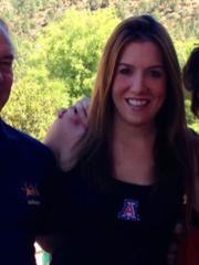 Allison Feldman, 31, shown here with her parents, was