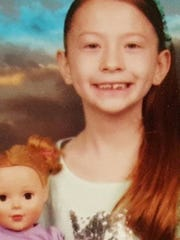 Sapphire Palmer, 7, was last seen at around 3 a.m. Tuesday.