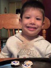 Brendan Creato, 3, was found slain in a Haddon Township park in October 2015.