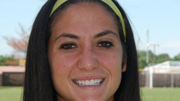 Rowan's Deandra Turchi earned NJAC Defensive Player of the Week honors.