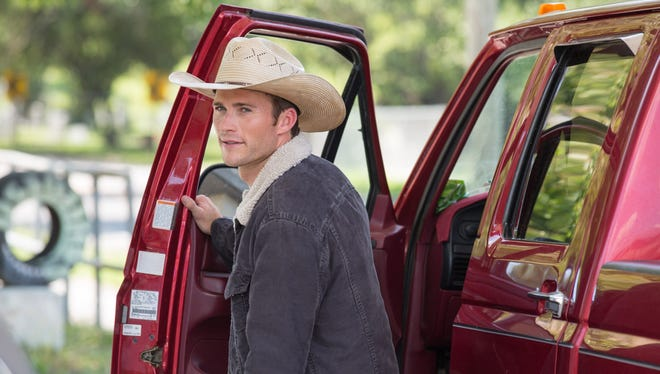 """Scott Eastwood plays Luke Collins, a former champion bull rider looking to make a comeback, in """"The Longest Ride."""""""