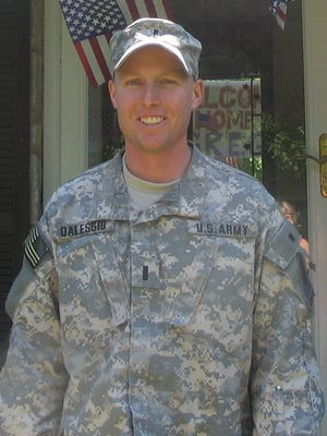 Army Capt. Greg Dalessio of Cherry Hill, who died in Iraq in 2008, will be honored by the Cherry Hill Fire Department.