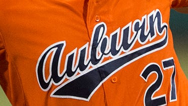 Auburn baseball jersey