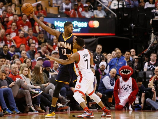 NBA: Playoffs-Indiana Pacers at Toronto Raptors