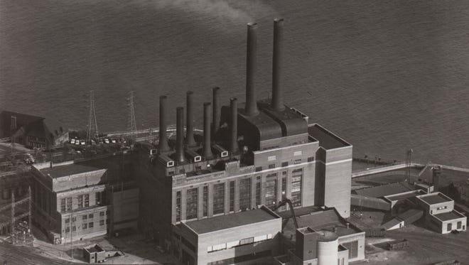 Marysville DTE Power Plant. Undated.