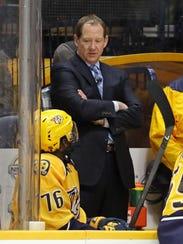 Nashville Predators assistant coach Phil Housley talks