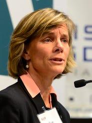 Democratic gubernatorial candidate Sue Minter.