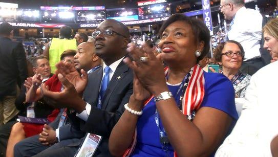 New York State Senator Andrea Stewart-Cousins was among