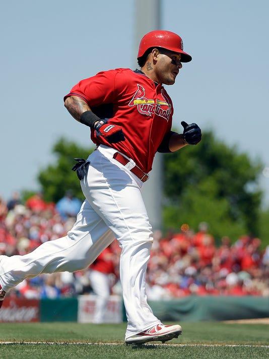 Nationals Cardinals Spring Baseball