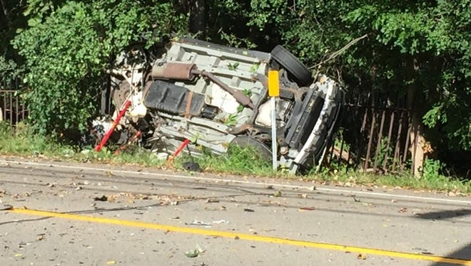 A motorist died Sunday following a two-car crash on State Route 39 in Geneseo, police said.