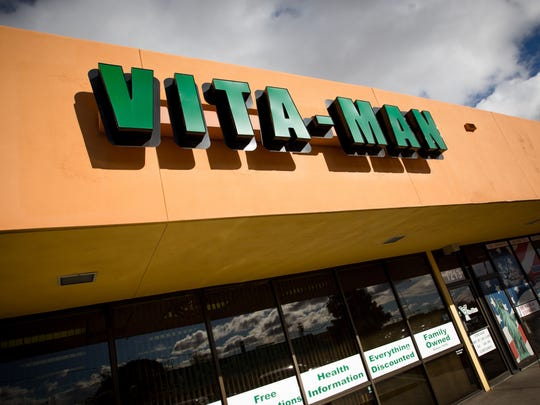 The Vita-Man Nutrition Center on El Paseo Road.