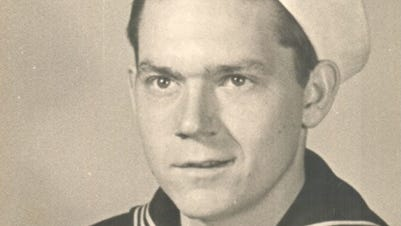 Tommy  McNabb as he looked in 1945 before his death on the USS Indianapolis.