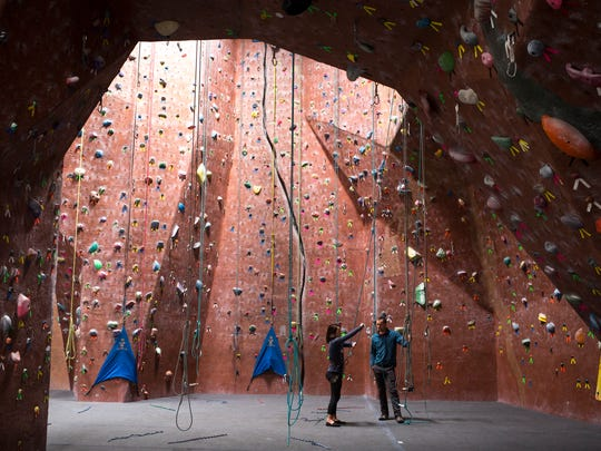 AZ Rocks, January 22, 2018, the state's largest indoor rock climbing gym, at 16447 N. 91st Street, Scottsdale.