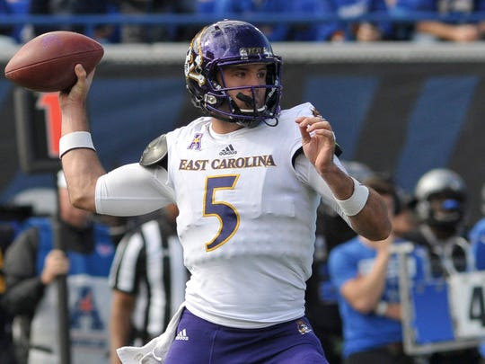 Gardner Minshew, a graduate transfer from East Carolina, could be a candidate to start for Washington State in the fall.