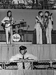 The Beatles performed at 4 and 8:30 p.m. at the Mid-South
