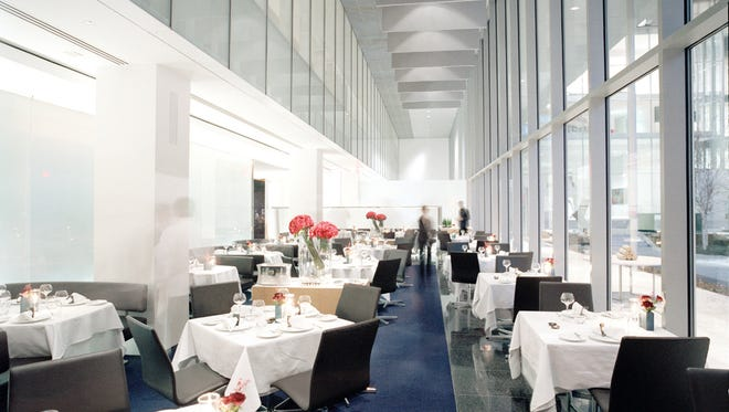 The new policy will kick in at The Modern restaurant in New York City at the end of November.