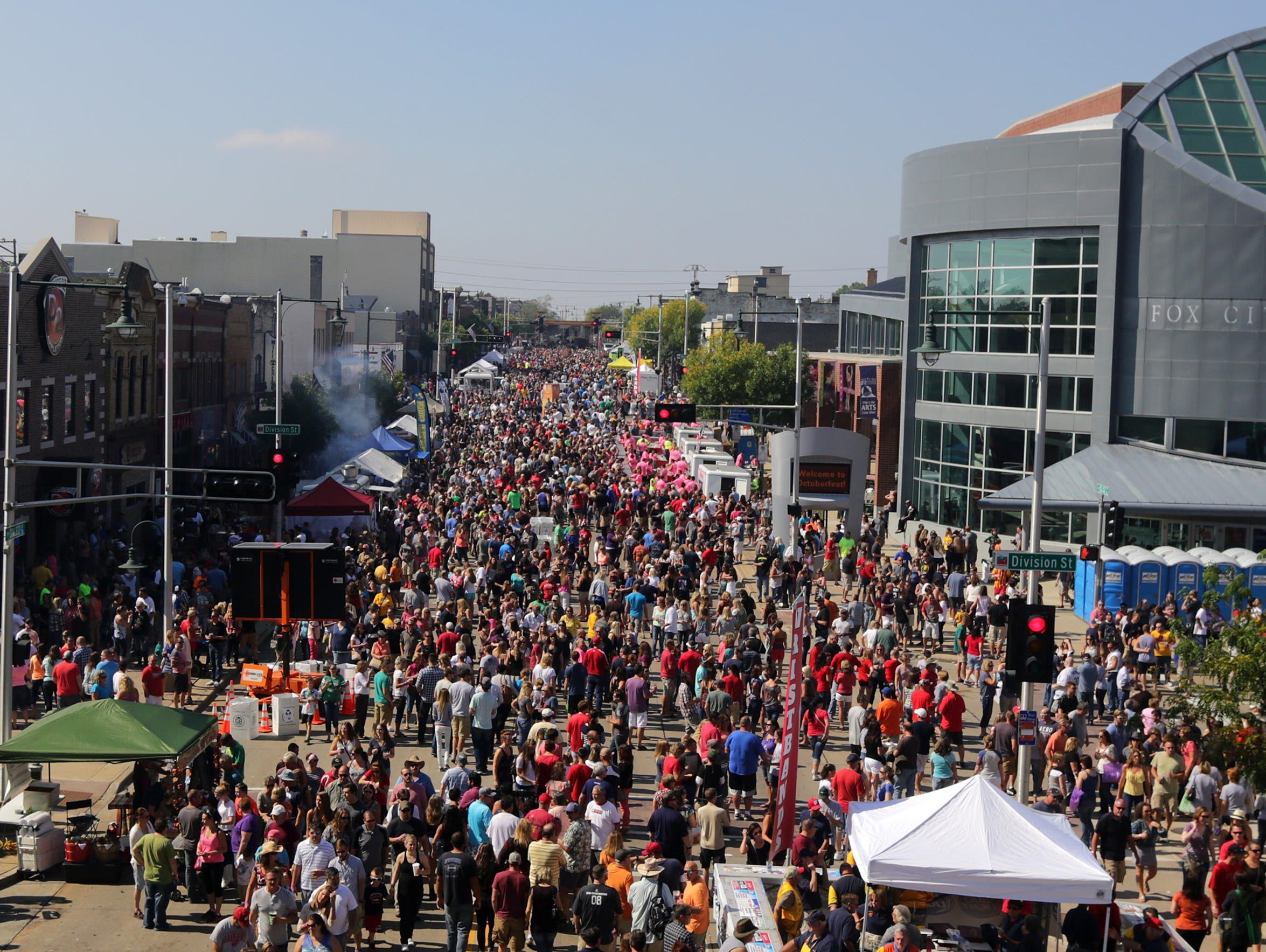 The sea of humanity that is Octoberfest will cap another