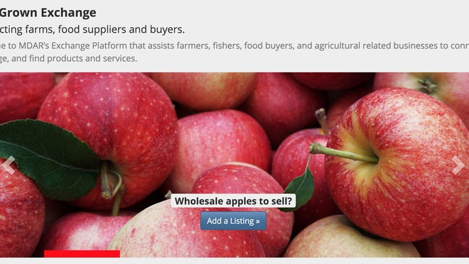 Local produce, fish, equipment and other agriculture-related services are available on a new state-run MassGrown Exchange marketplace.