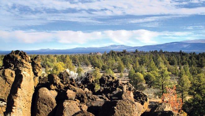 Views of the Badlands abound from atop Flatiron Rock in the Oregon Badlands Wilderness.