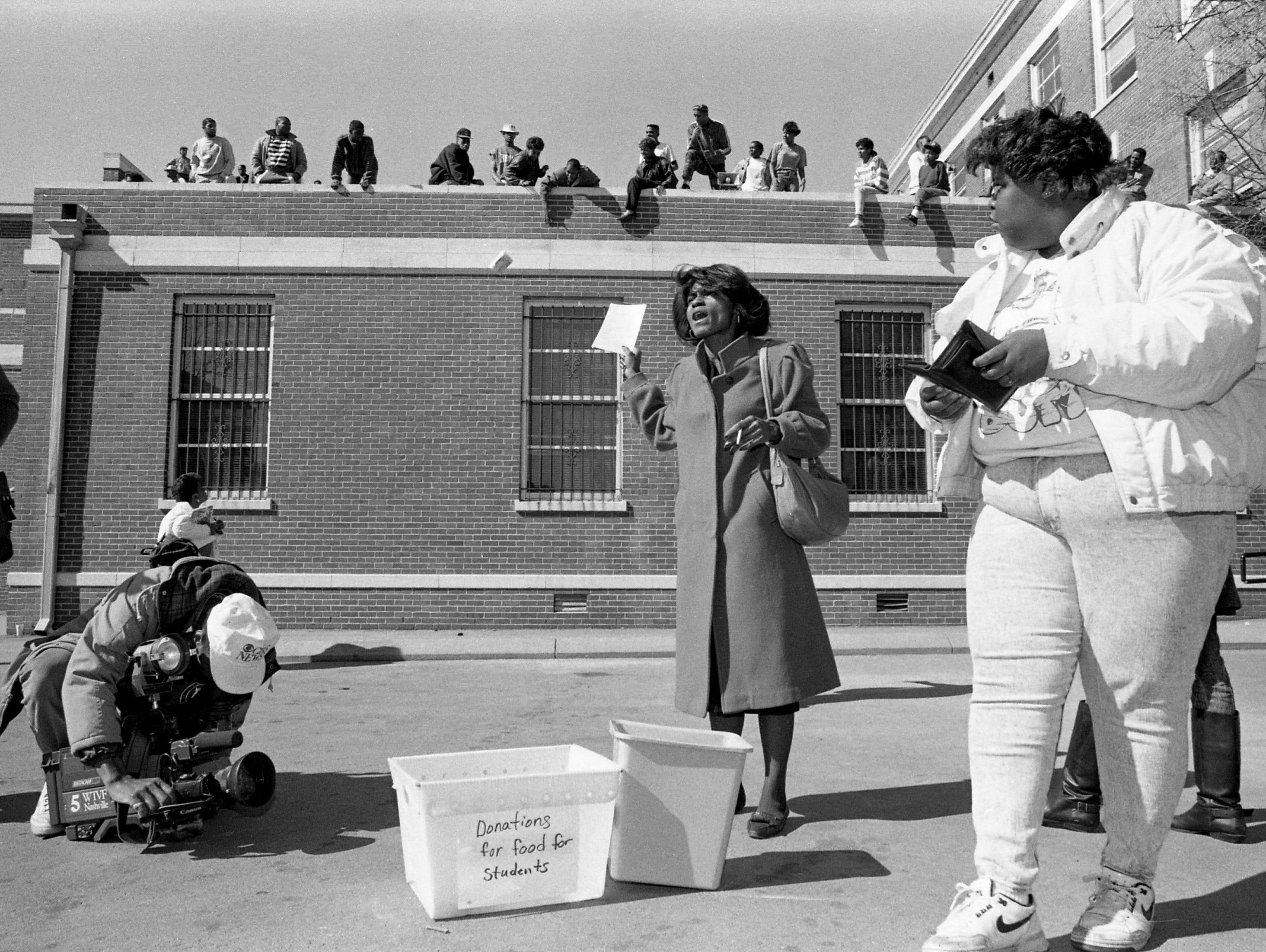 Take a look back at Nashville history with a gallery of photos of TSU students protesting campus problems in 1990, curated exclusively for Insiders.