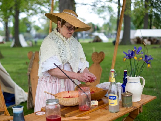 Event at Pine Grove Park is an 18th century feast for the senses