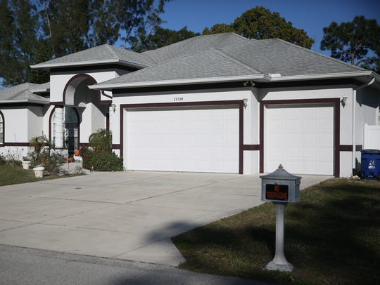 The Bonita Springs home of Mark and Teresa Sievers.
