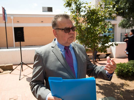 Philip San Filippo, former director of economic development for the city of Las Cruces, seen at the Branigan Cultural Center on Monday, Aug. 20, 2018.
